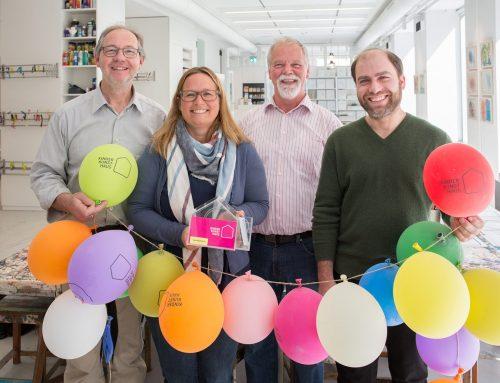 Erfolgreiche Spendenübergabe an das Kinderkunsthaus München